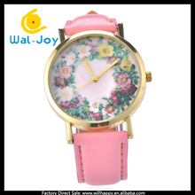 WJ-4775 flower no brand big dial for women vintage vogue hot sale popular watches