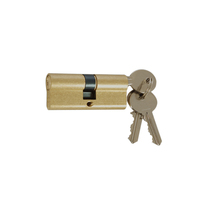 Furniture brass lock cylinder