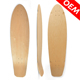 Decorative Skateboard Decks Cheap Customized Wood Cruiser Fish Skateboard Deck