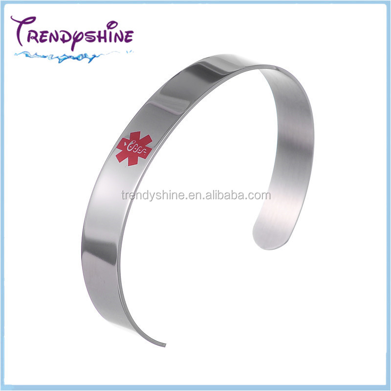 medical bracelet detail buy product hemophilia plastic alert id