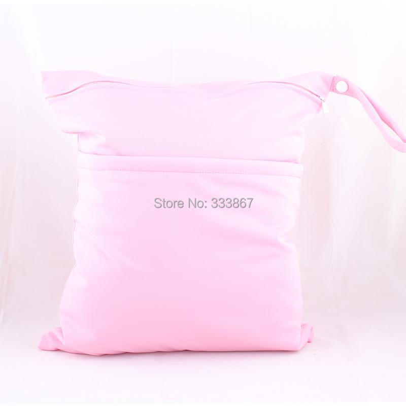Pink Wet Dry Bag Baby Diaper Ny Waterproof Reusable Two Zippers For Swim Suit Retail Whole In Price On M Alibaba