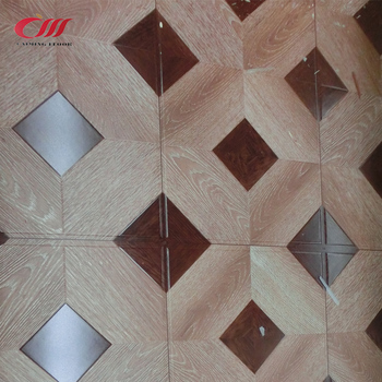 19 New Type Synchronized Parquet Effect Laminate Wood Flooring With
