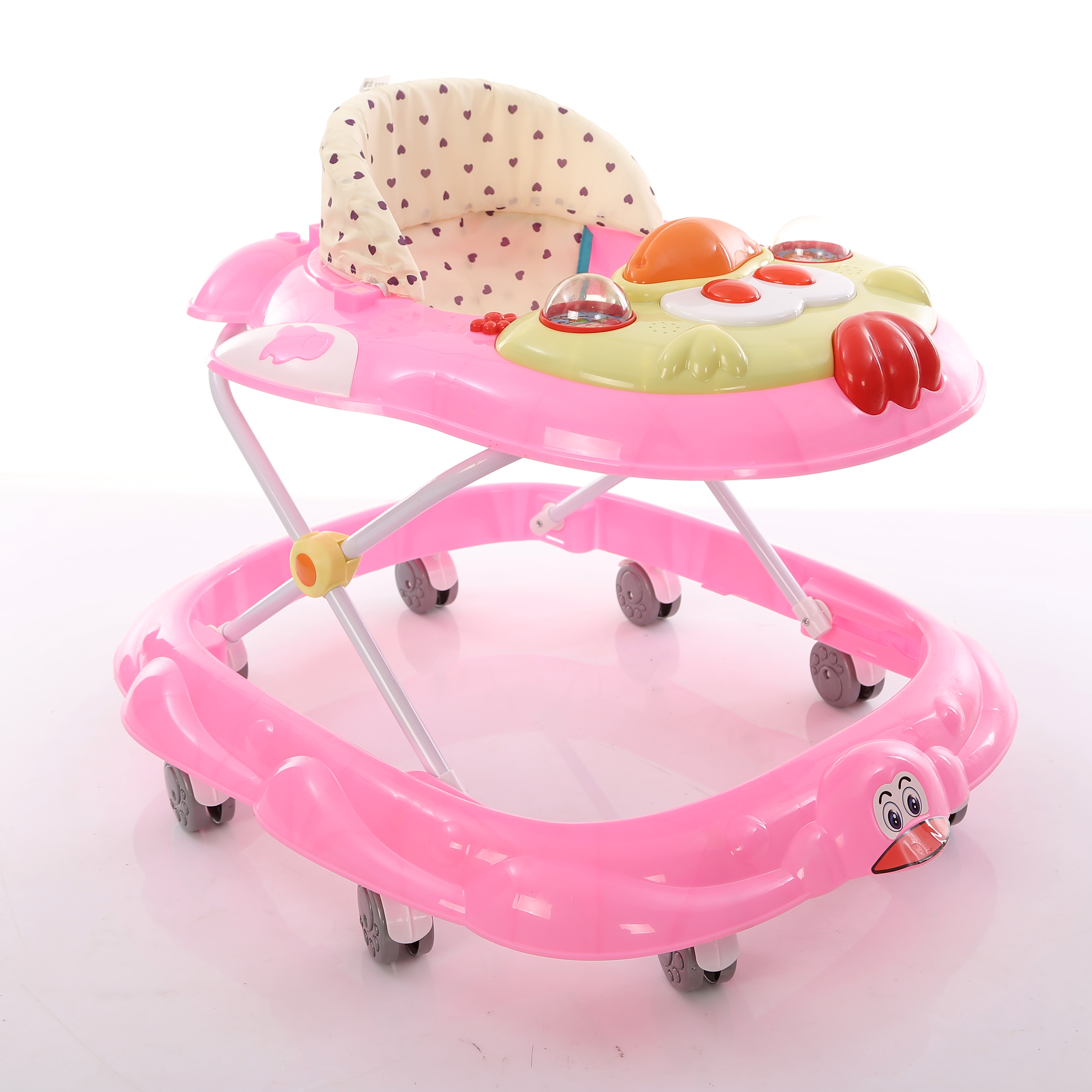 665f0b1b44d8 Qq Fancy Plastic Motorcycle Lion Car Baby Wheel Girl Doll Bouncer ...