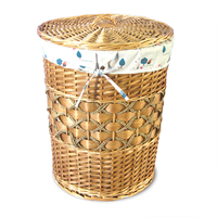 Handmade cheap Willow Wicker laundry basket