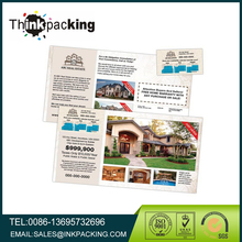 Marketing Laminated Postcard With Peel Off Magnet Direct Mail