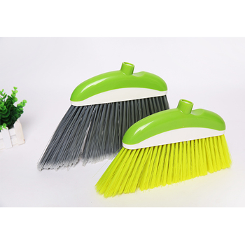 Plastic Bristle Soft Hair Colorful Broom Head For Garden Outdoor Floor