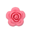 BPA Free Silicone Loose Flower Beads For Teething Jewelry
