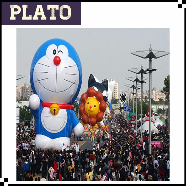 inflatable floating cartoon for parade /animated children cartoon for sale
