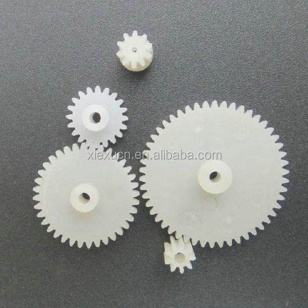 Plastic / Nylon / POM small drive spur gear professional manufacturer