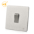 1 gang 2 way stainless steel wall light switch plate