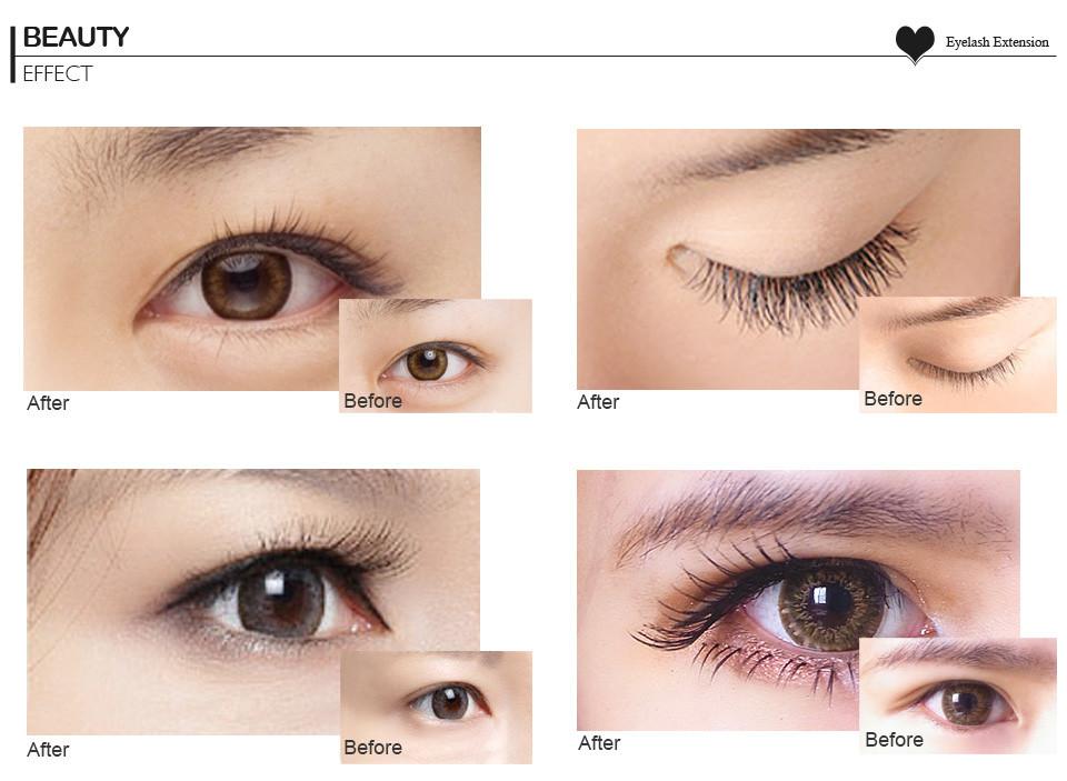 Natural Eyelash Extension Products
