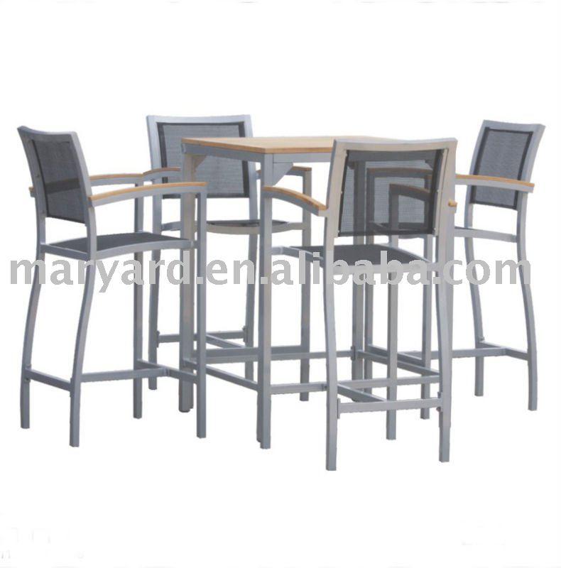 Guangdong gardem bar meubles table en teck outils de for Table d exterieur ikea
