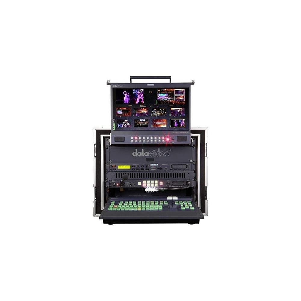 Datavideo MS-2800A | Multi-Definition Video Switcher SE2800-8 TLM-170GM ITC-100 HDR-70 AD-100 PD-2