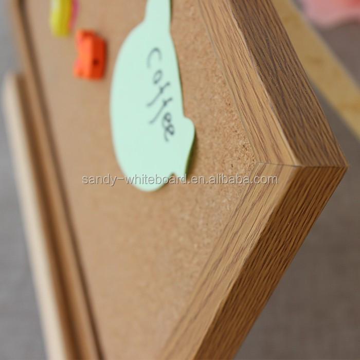 Lanxi xindi pas cher MDF cadre panneau de liège pour la décoration ...