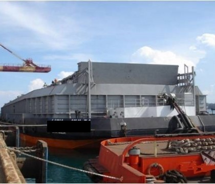 barge with hatch cover long ramp door buy barge product on