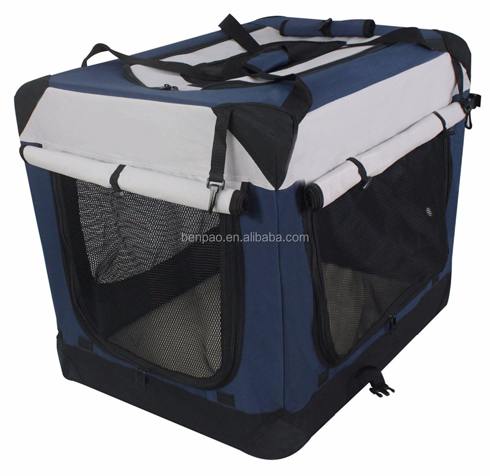 Multiple Sizes & Colors Available Foldable Dog Crate Pet Soft Crate