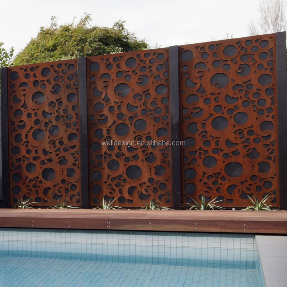 Decorative Outdoor Garden Screens Used For Hotels Garden Swimming ...