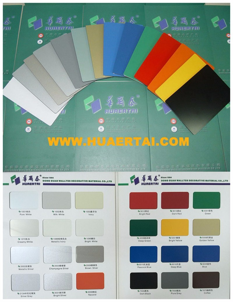 High strenth PVDF/PE Aluminium composite panel