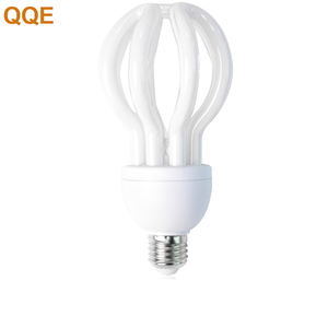 Zhongshan factory price ac dc 12v 24v 110v 220v lotus shape cfl bulb skd energy saving cfl lamp
