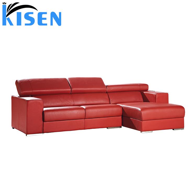 Living Room Furniture Modern Leather