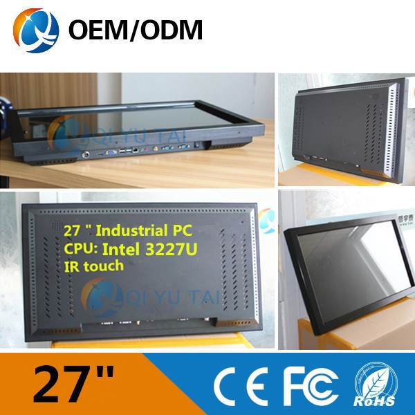 "i3 cpu 27""New Design IR Multi Touchscreen PC All In One Computer with Bluetooth/WIFI"