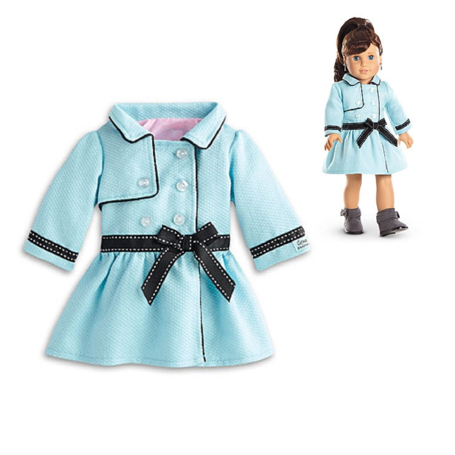 American Girl Grace - Grace's Travel Coat for Dolls - American Girl of 2015
