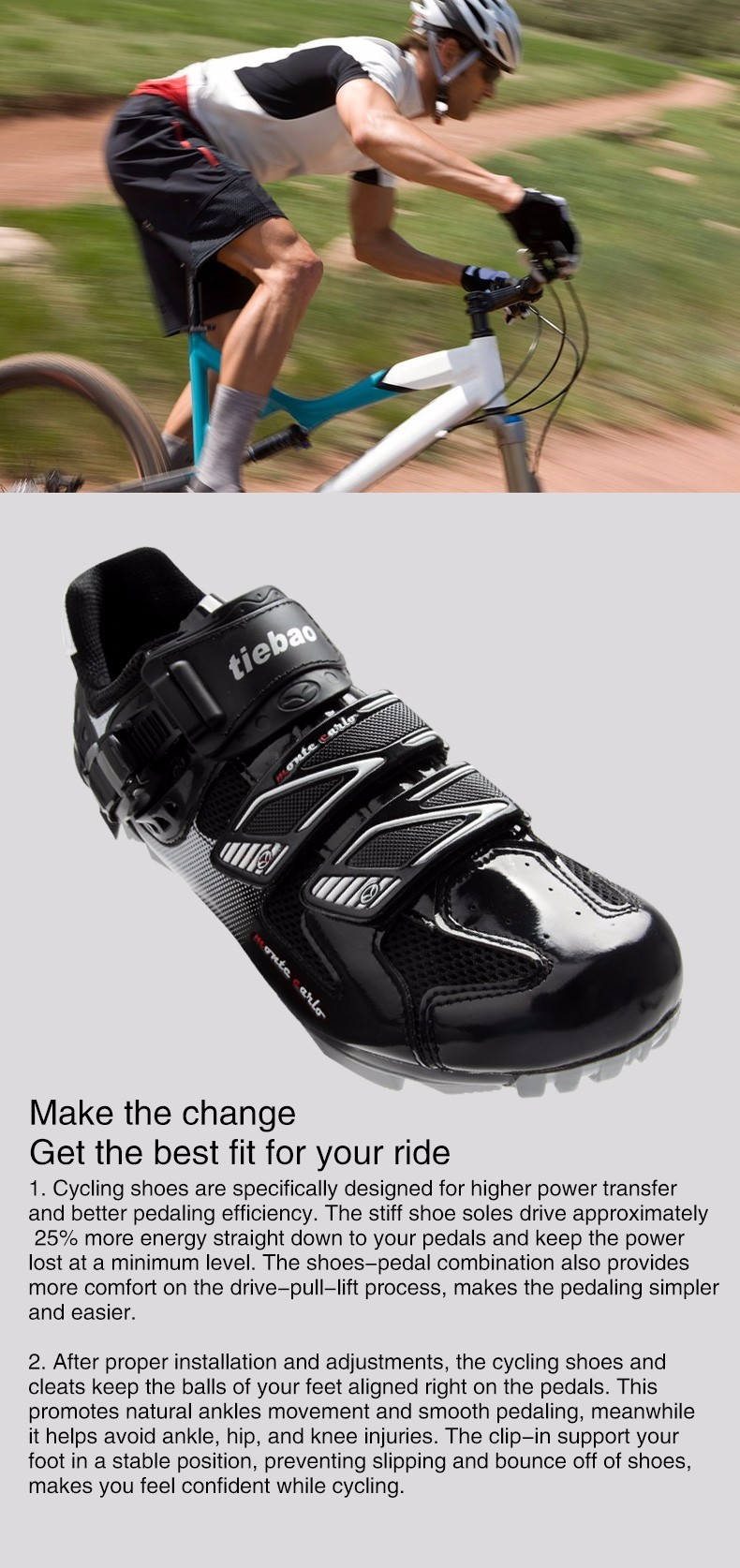 2016 TIEBAO NEW FASHION GOOD QUALITY CYCLING SHOES BIKE SHOES.WITH BUCKLE.