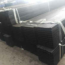 Black cold rolled galvanized mild steel square tube