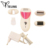 Smart rechargeable electric hair remover shaver 3 in 1 lady epilator& hair removal machine epilator