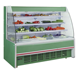 Supermarket open air curtain vegetable display cooler Chiller