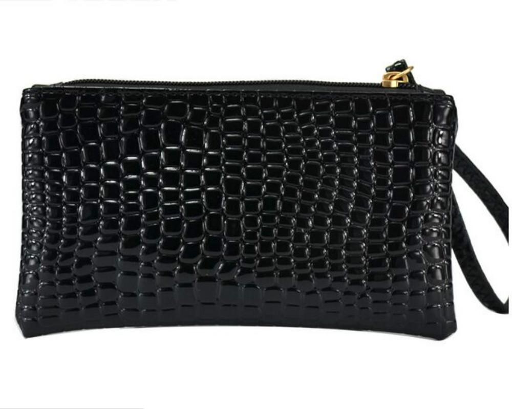 5ee5f7c90 Get Quotations · New 2015 women PU leather Totes alligator fashion designer  vintage women Handel Bag Coin Purse Handy