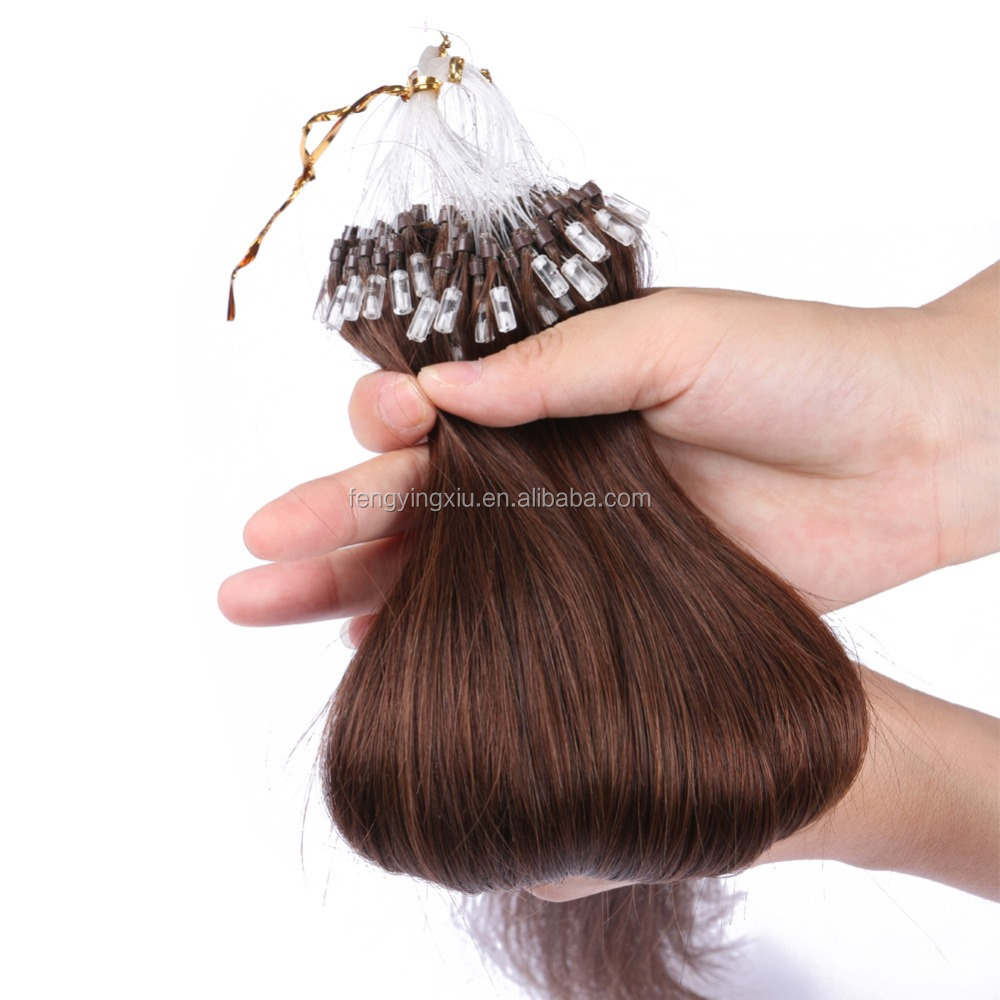 Remy Brazilian Micro Links Hair Extensions Remy Brazilian Micro