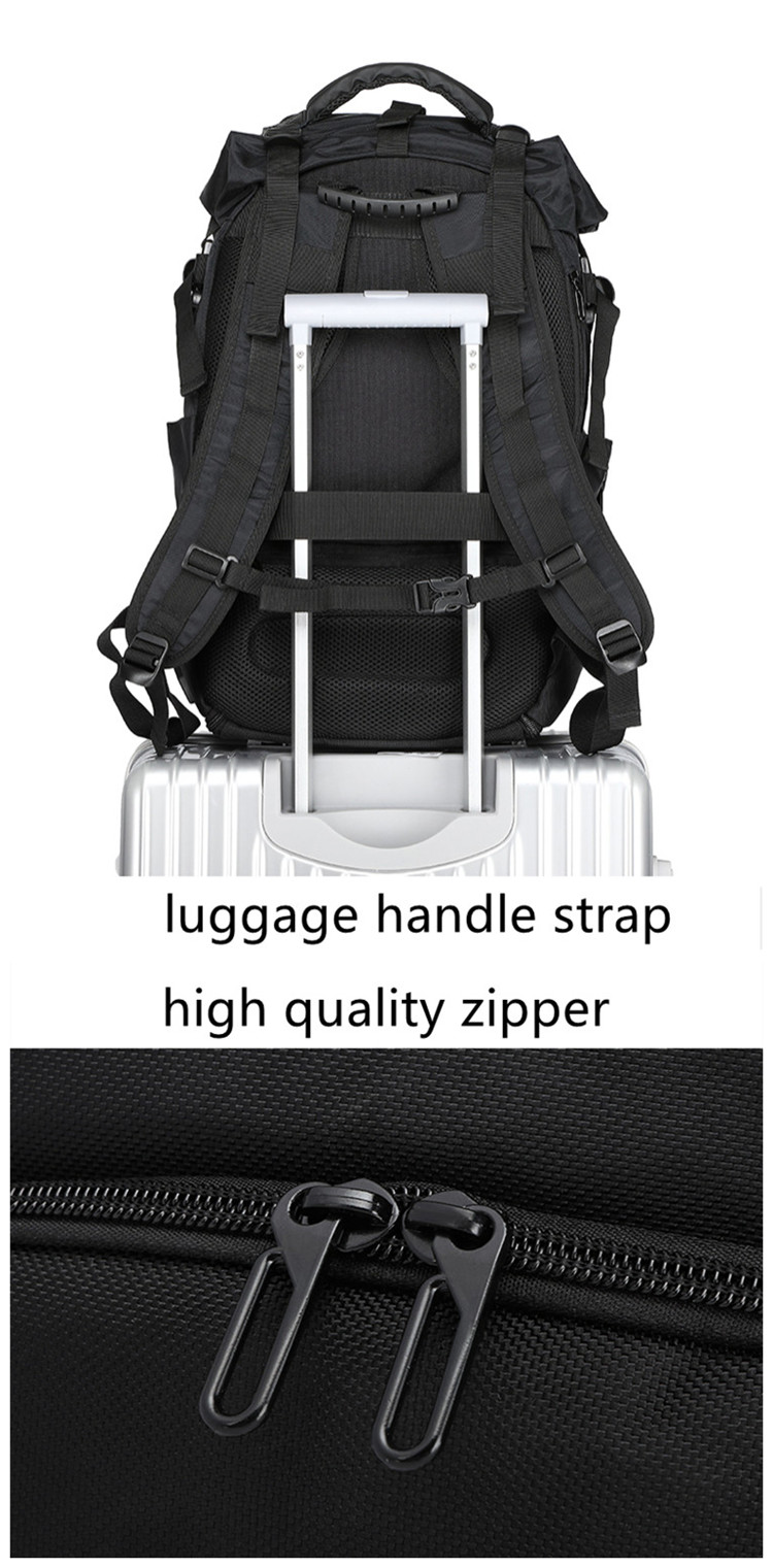 This is a picture of Comprehensive Private Label Sneaker Backpack