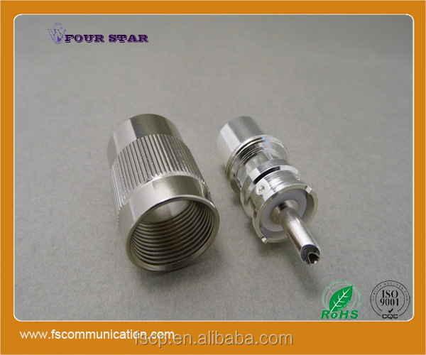 Male Soldering RF Coaxial UHF Connector for RG58 Cable
