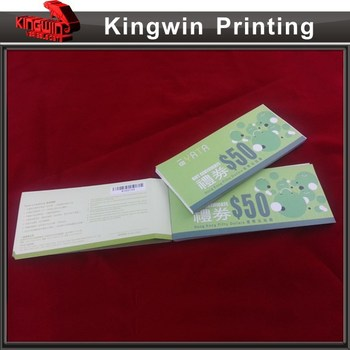 china anti fake tickets booklet printing