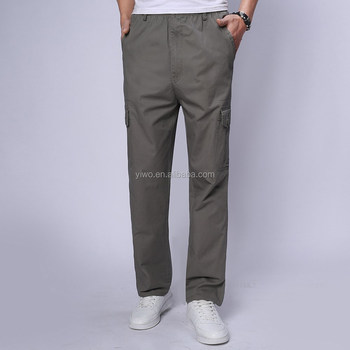 2015 New fashion style OEM service cheap wholesale men's cargo trousers