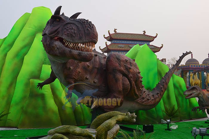 Cet N 20 Chinese Animatronic Outdoor Robotic Dinosaur For