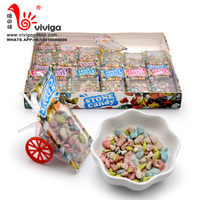 Funny trolley toy filling high quality stone chocolate candy
