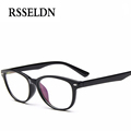 RSSELDN 2017 Fashion Women Optical Eyeglasses Frame Glasses With Clear Glass Brand Clear Transparent Glasses Women