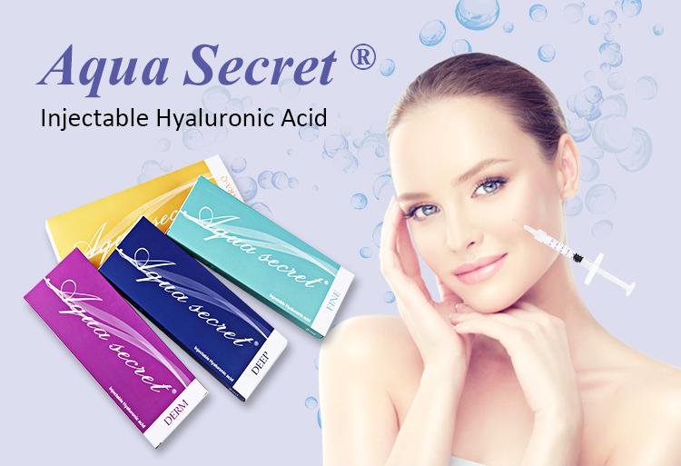 Certificada Pela CE Beleza ampola de Injeção de ácido hialurônico para o nariz