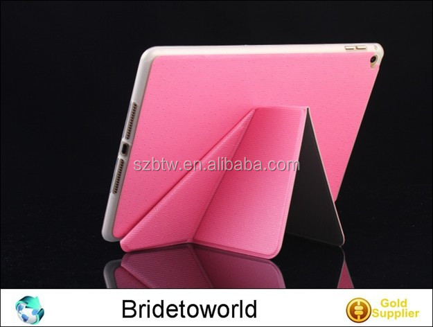 Folio Folding Slim PU Leather Stand Case Cover For New Apple iPad Air 2 6 6th Gen