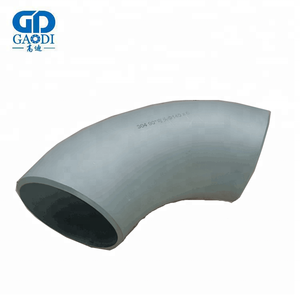 Low Temperature Alloy Steel Pipe Fittings Mild Cold Forming Steel 90 Degree Elbow