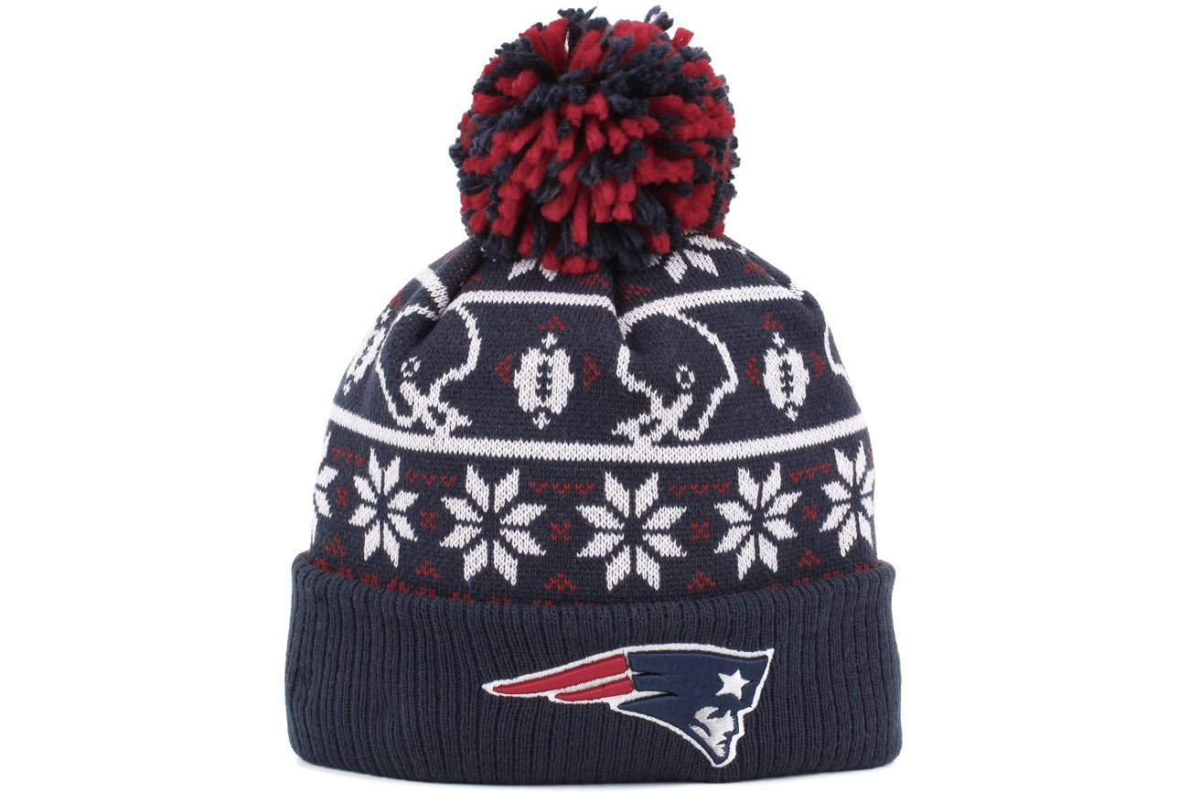 Get Quotations · New Era New England Patriots Sweater Chill Sport Knit  Beanie 13f2ab4fe
