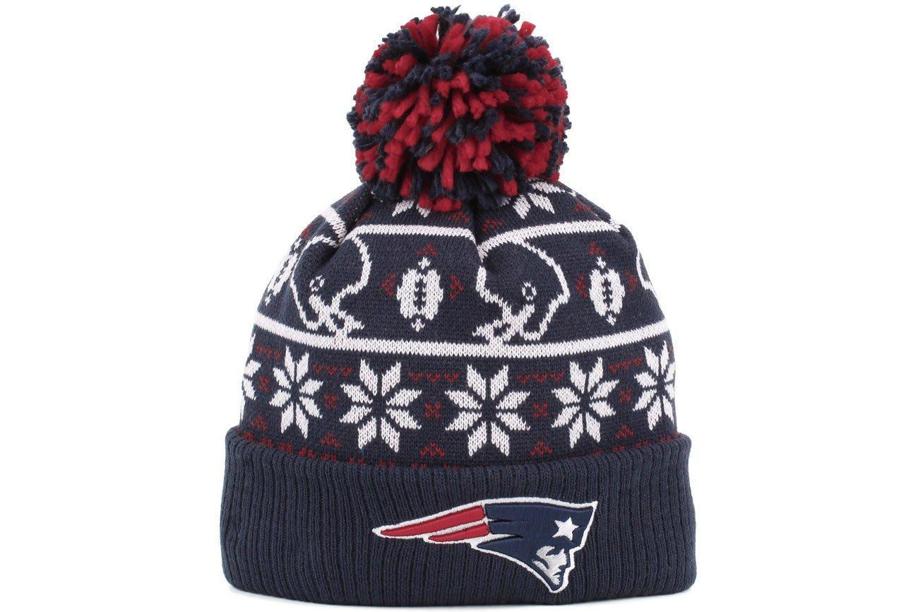 9519f65d1 Get Quotations · New Era New England Patriots Sweater Chill Sport Knit  Beanie