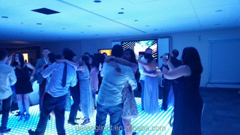 Best Price Colorful Dance Floor Dmx Led