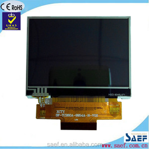 SPI interface of 2.4 inch lcd screen in china lcd tv QVGA 240x320 normal viewing angle TFT with TP TFT