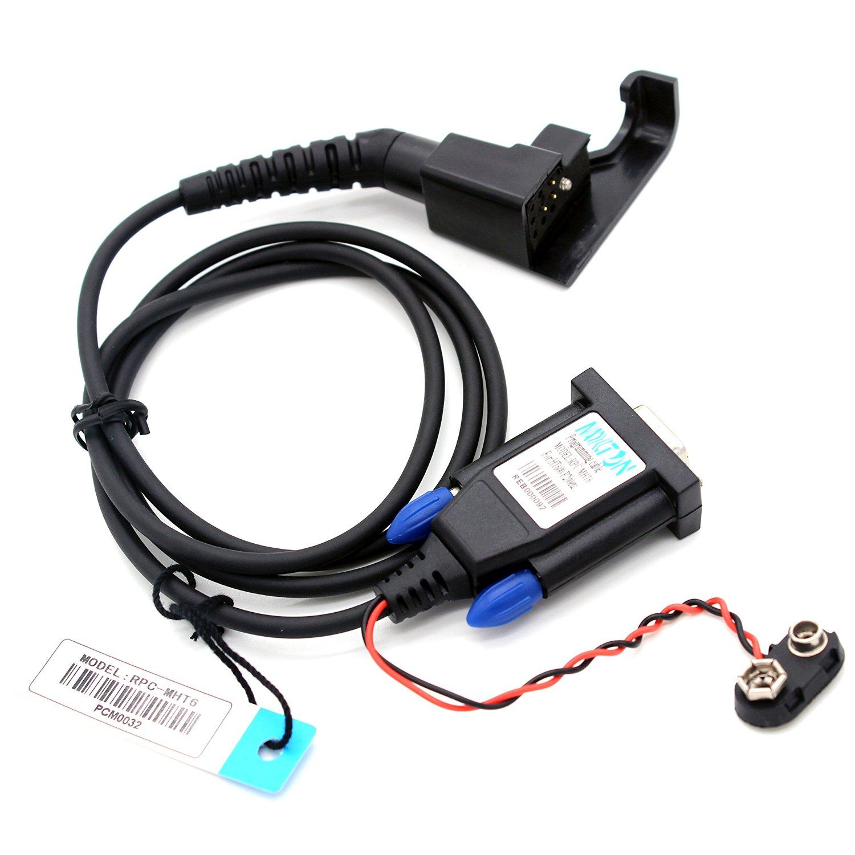 Awen+® Programming Cable for Motorola Walkie Talkie HT600 HT600A HT600E HT800 MTX800 MTX810 MTX900 P200 P210 P500 MT1000