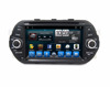 high definition Egea car radio multimedia player dvd gps with multi touch screen ,phone link , 1024x600