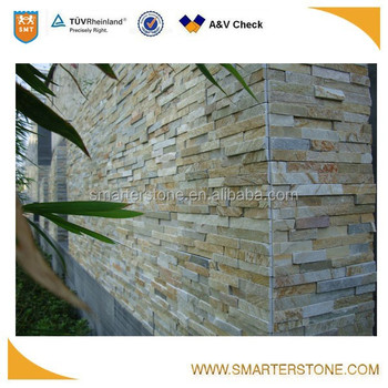 Mixed Colors Exterior Wall House Decorative Stone For