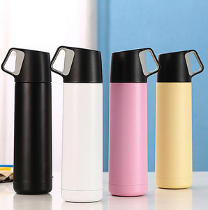 Food grade material wholesale mini coffee thermos vacuum flask copper moscow mule mug with handle